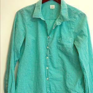 JCrew women's perfect shirt